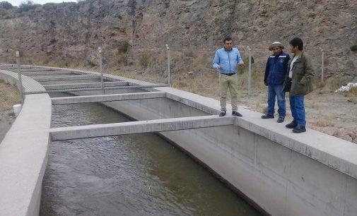 Gerente supervisa trabajos en túnel Huambo – Querque