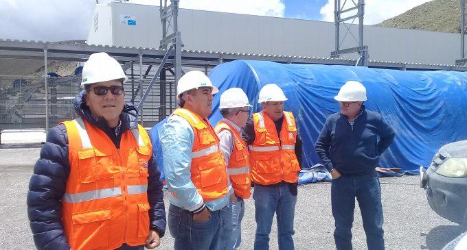 Visita técnica de avances de obras del proyecto Majes Siguas II
