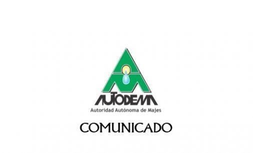Comunicado 020  (Corte y reposición de agua)