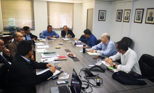 Equipo técnico de Autodema se reúne con representantes de la CAF