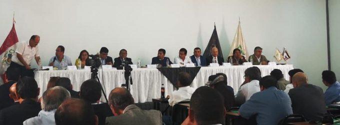 Mesa técnica de trabajo sobre el proyecto Majes Siguas II Etapa