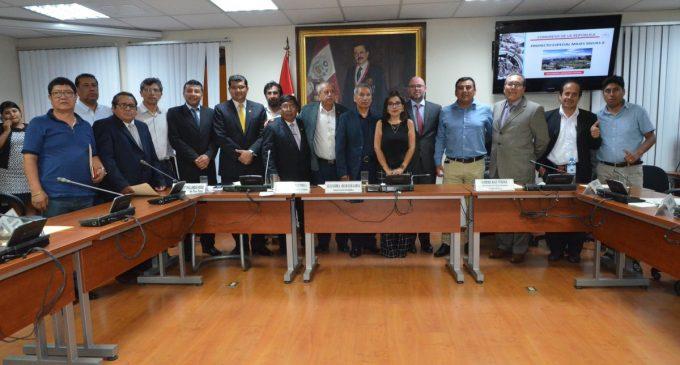 Comprometidos en sacar adelante el proyecto Majes Siguas II Etapa