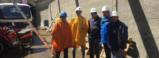 Gerentes, consejeros y representantes de Juntas de Usuarios de Majes supervisaron trabajos de reparación de túnel terminal.