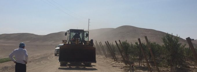 Autodema recuperó terrenos en Pampa Baja – Majes