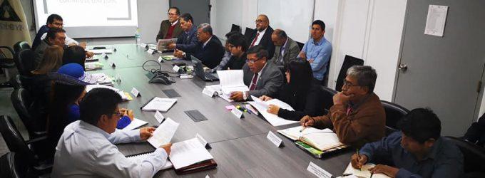 Funcionarios y técnicos expusieron avances de adenda 13 a consejeros regionales