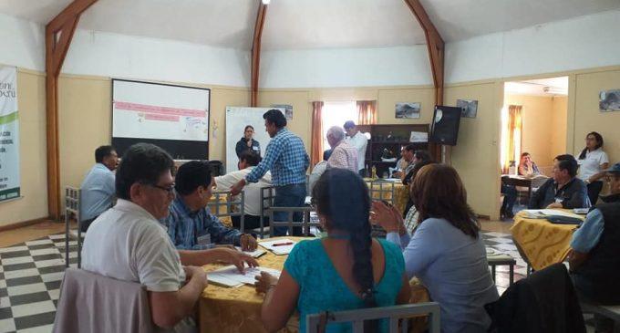 Autodema realiza taller para contribuir crecimiento de productores de Majes