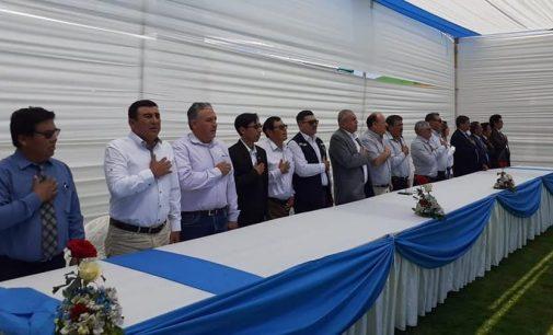 Autodema presente en el 31° aniversario de la Junta de Usuarios de la Pampa de Majes