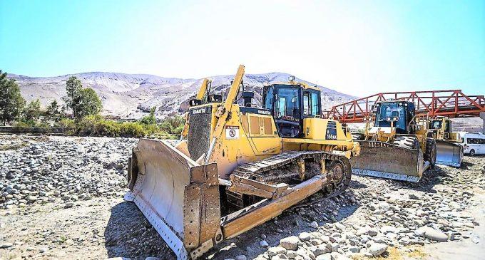Autodema, Gobierno Regional de Arequipa y Municipalidad de San Juan de Siguas trabajan unidos en limpieza y encauzamiento de río Siguas