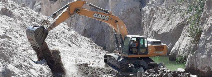 Autodema continúa con los trabajos de apertura de cauce en río Siguas