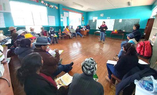 Autodema realizó taller informativo en Apacheta Rajada