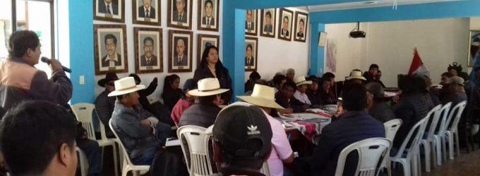 Comprometidos con el desarrollo de los pueblos de Caylloma