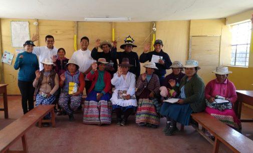Autodema realizó actividad de proyección social en Tarucamarca