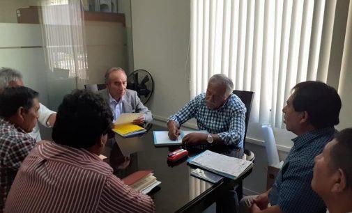 Funcionarios de la Gerencia de Desarrollo de Majes II se reunieron con Frente de Defensa de Caylloma