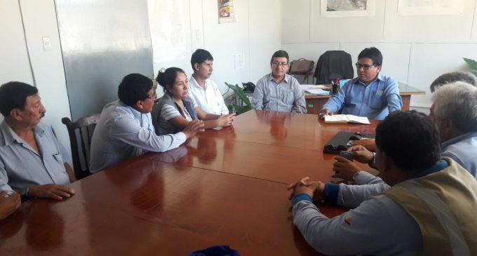 Gerente ejecutivo sostuvo reunión de coordinación con trabajadores en campamento Majes