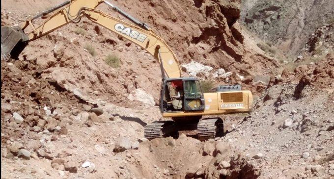 Autodema realiza trabajos en Huasamayo