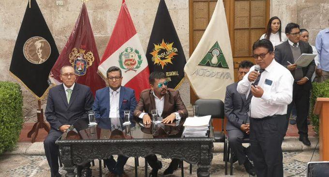 GRA y Autodema culminaron evaluación conjunta de la adenda 13 del proyecto Majes Siguas II