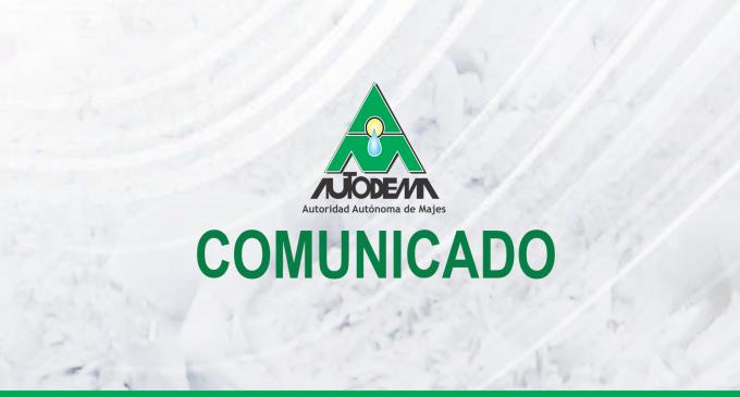 Comunicado de Aguada Blanca