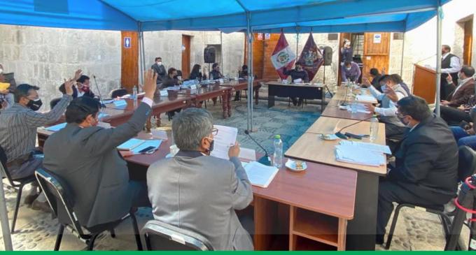 """CONSEJO REGIONAL DE AREQUIPA APRUEBA ORDENANZAS PARA VIABILIZAR EL FINANCIAMIENTO DE LAS OBRAS DE LA """"PUESTA A PUNTO"""" DE MAJES I"""