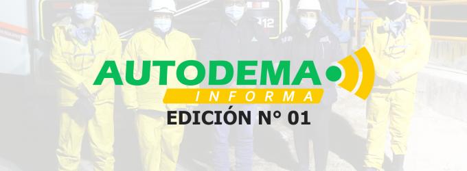 AUTODEMA INFORMA PRIMERA EDICIÓN