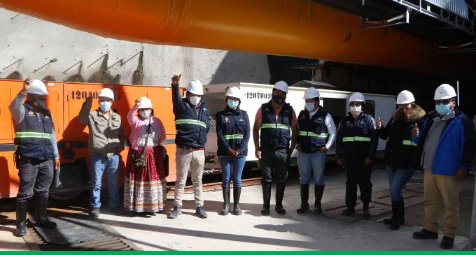 Consejeros regionales de Arequipa, realizaron una visita al campamento central de la Concesionaria del Proyecto Majes Siguas II Etapa – Tarucamarca