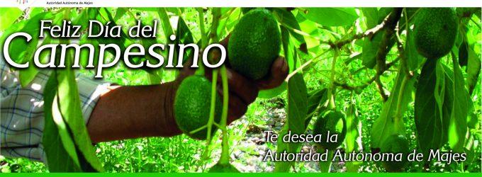 Feliz Día del Campesino te desea Autodema