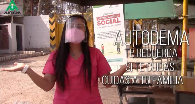Instructivo de protocolos de bioseguridad para acceder a trámites en Autodema