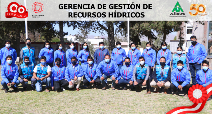 GERENCIA DE DESTIÓN DE RECURSOS HÍDRICOS